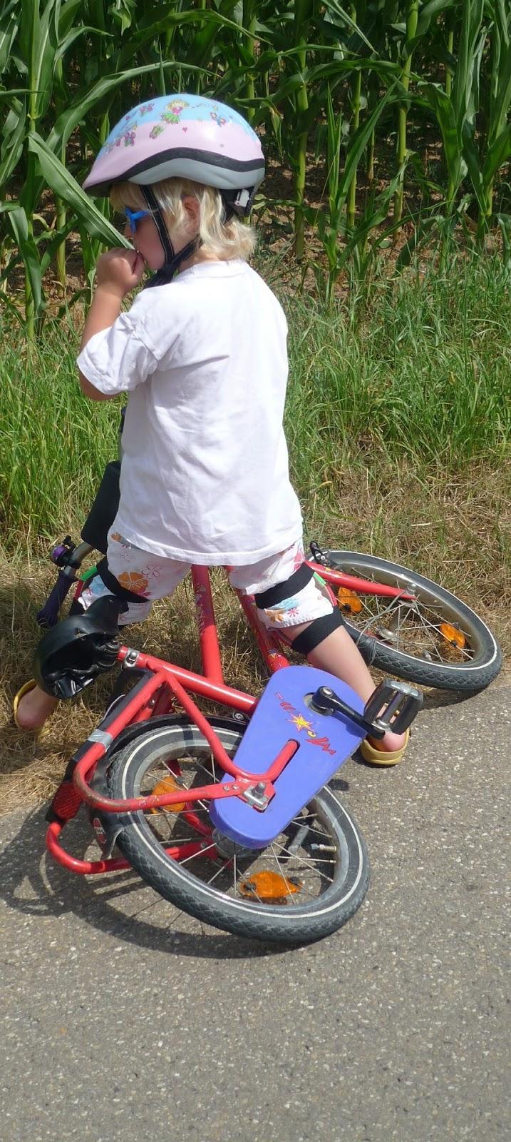Child bike.