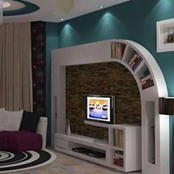 Gypsum Bourd Tv Units In Action Home Decor