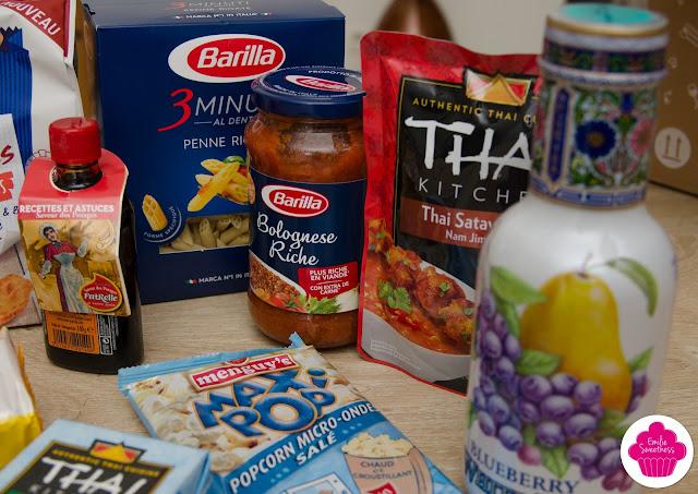 Degustabox d'Octobre - Cuisinez en famille - Description, test et avis