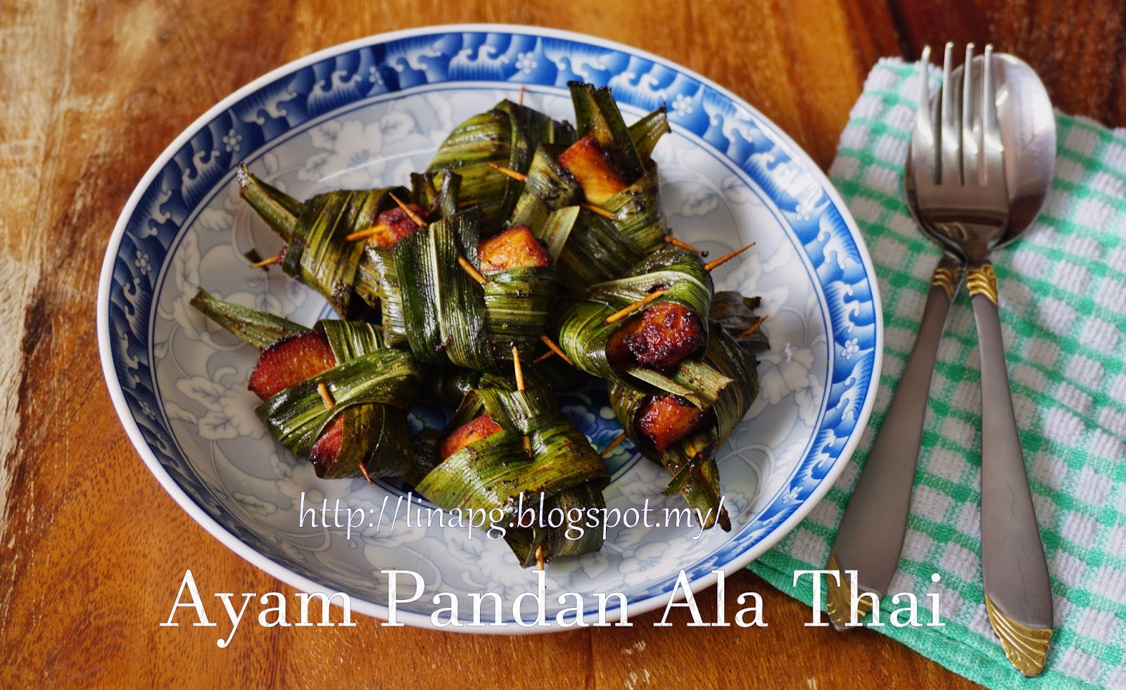 how to cook pandan chicken
