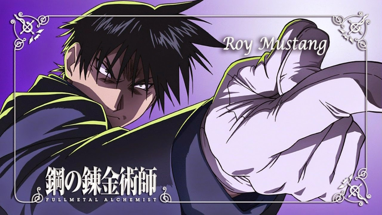 Full Metal Alchemist Brotherhood Roy Mustang