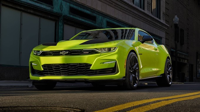 Learn about the details of the Chevrolet Camaro 2020