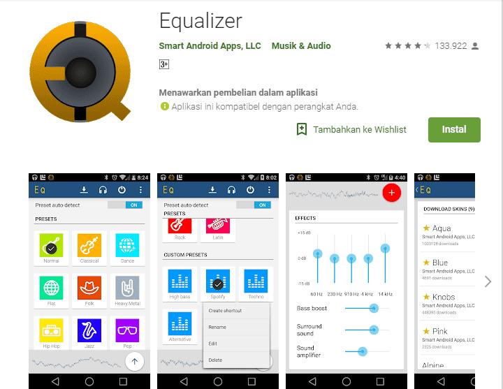 Aplikasi Equalizer