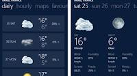 Migliori 5 app meteo per Windows Phone con previsioni del tempo live