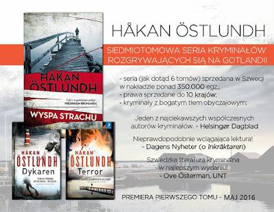 """""""Wyspa strachu"""" - seria kryminalna Hakana Ostlundha po raz pierwszy w Polsce"""