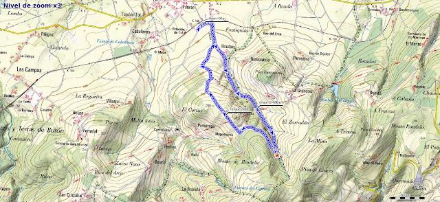 Mapa ruta Das Minas PR AS-182