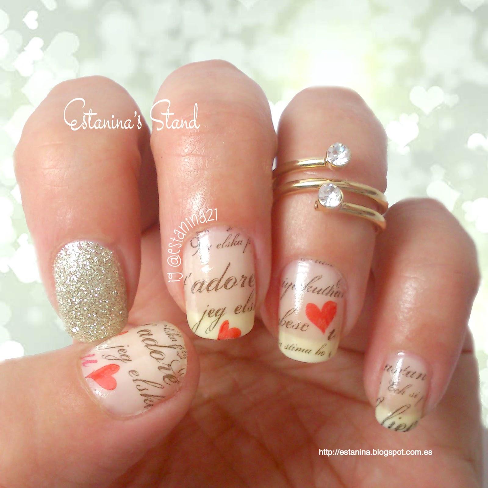 Uñas Románticas Para San Valentín Mi Stand De Uñas Decoradas