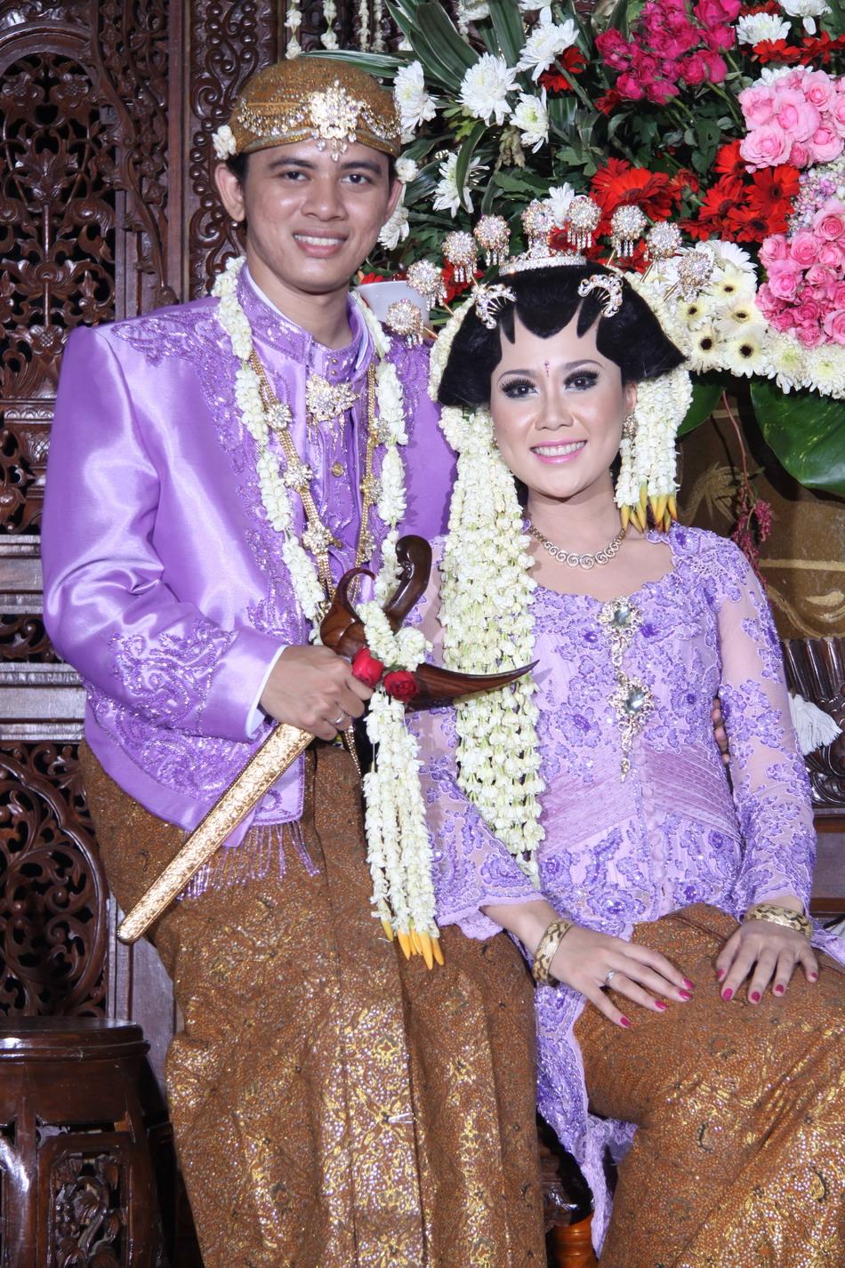 Foto Pernikahan Jawa  Album Wedding