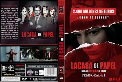 CARATULA[SERIE TV]LA CASA DE PAPEL TEMPORADA 1