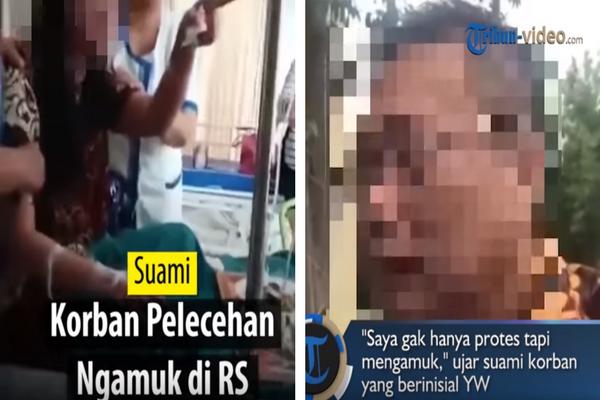 Tak Terima Istrinya Dilecehkan, Pria ini Ngamuk di Nation Hospital Surabaya