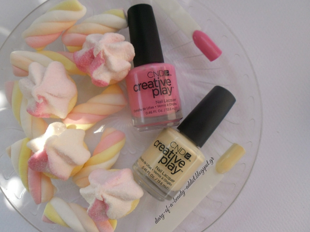 CND Creative Play Nail Lacquer : Review, Swatch, Nail Art