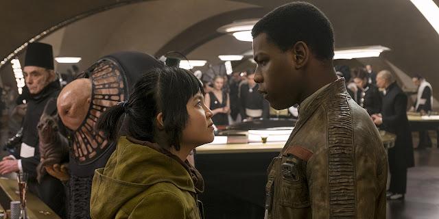 Rose Tico y Finn