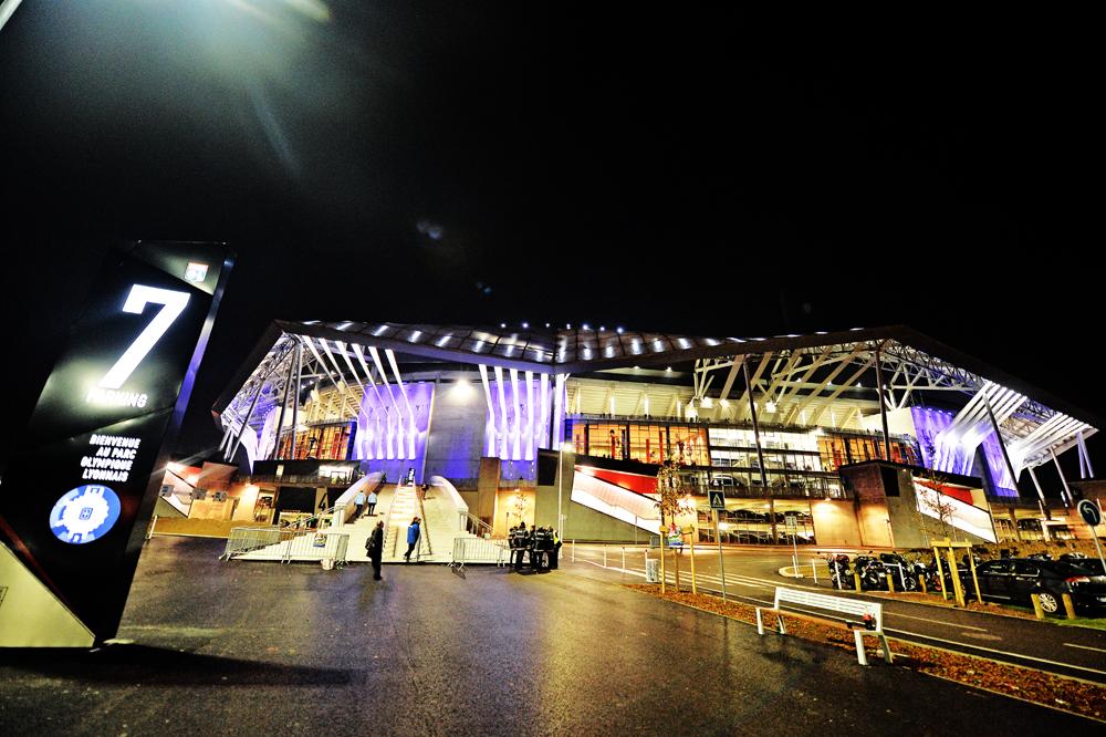 nuovo stadio lione architettura