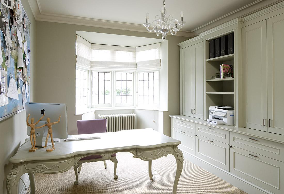 Azul blue oficinas en el hogar - Despachos en casa decoracion ...