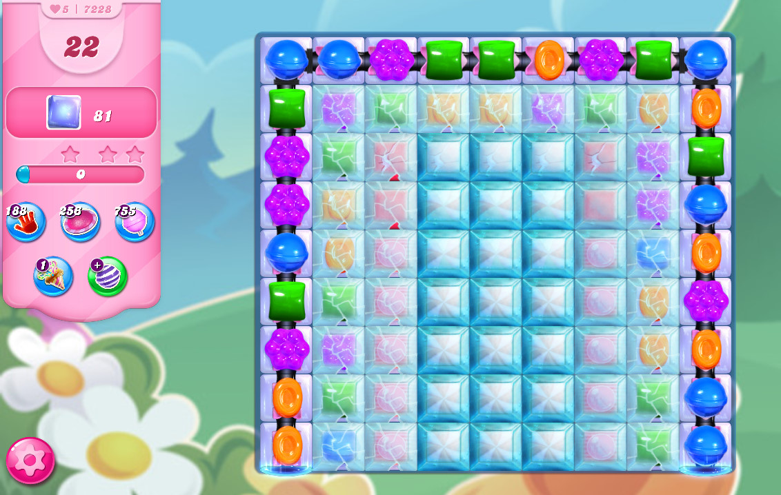 Candy Crush Saga level 7228