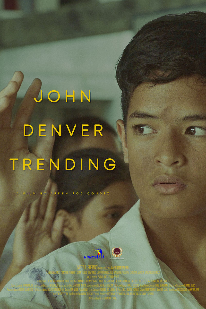 John Denver Trending 2019 Cinemalaya Finalist Move Trailer Poster