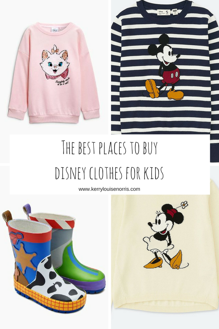 Kohl's is definitely our go-to place for Disney clothes that aren't cheesy, but we have some other places that we love too! The next place that we find a lot of our Disney clothes is Old Navy. Sometimes their character clothes can be kind of hit or miss, but sometimes we can find some really great pieces there.