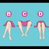 اعرف ما تفكر به المرأة من وضع ساقيها  احذر من الرقم E وأنتي أي واحدة منهم ؟
