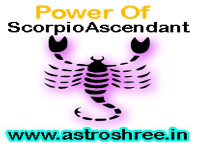Scorpio ascendant astrology, vrischik lagna details in astrology.