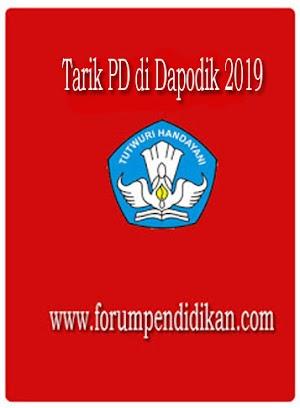 Tarik PD di Dapodik 2019