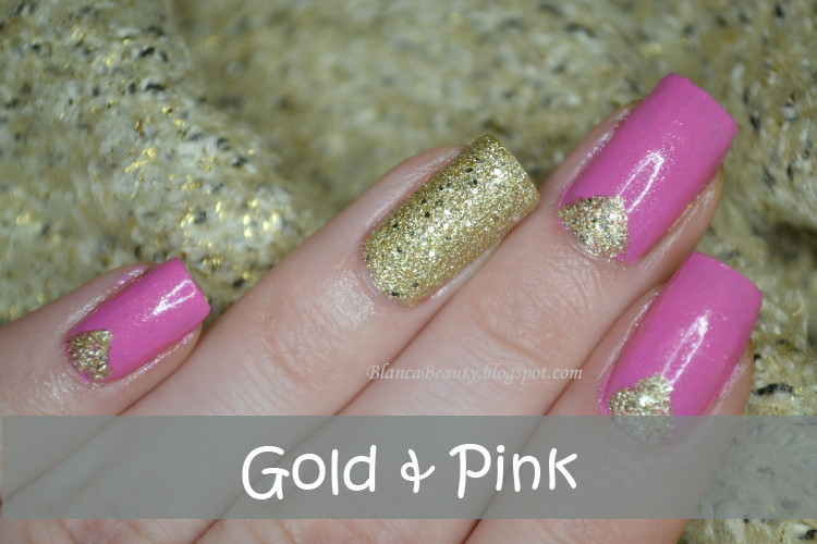 http://blancabeauty.blogspot.com/2014/01/gold-and-pink.html