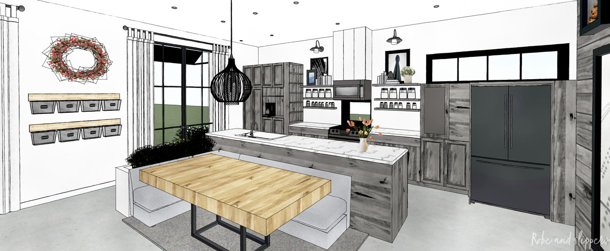 foreverland white house concept kitchen solera homes
