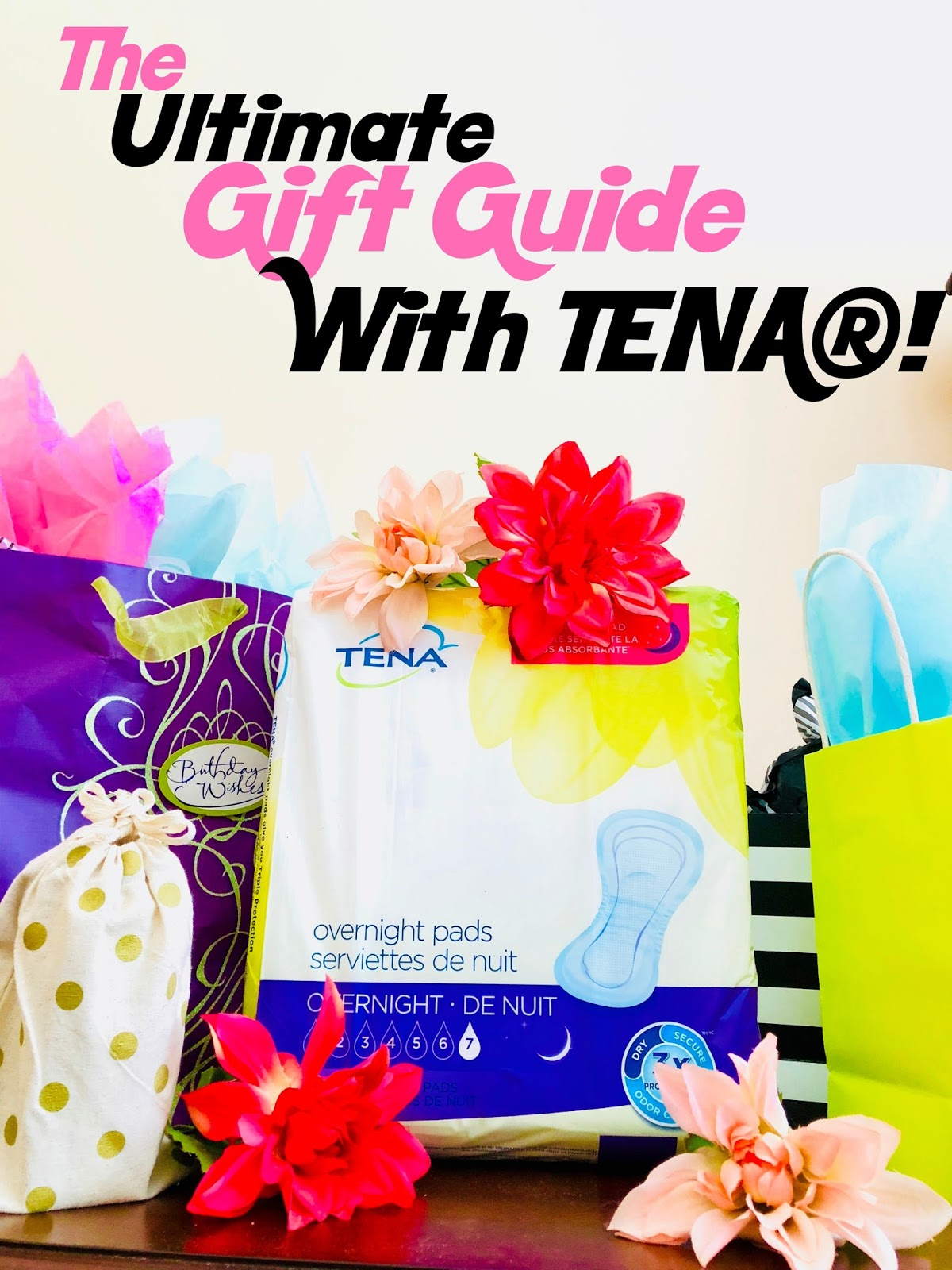 tena brand, tena overnight pads, Tena pads, overnight pads, incontinence, presents for the elderly, elderly gift guide, gift guide,
