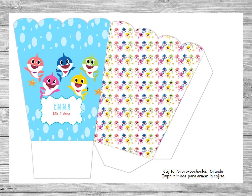 Kit Imprimible Baby Shark Deco Kit Imprimibles