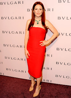 Julianne Moore In Red Skirt