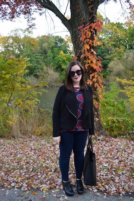 Sequins and Skulls: Fallen Leaves