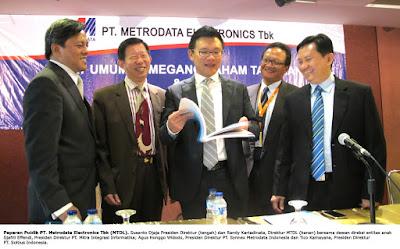 Info Lowongan Kerja PT Metrodata Electronics Tbk