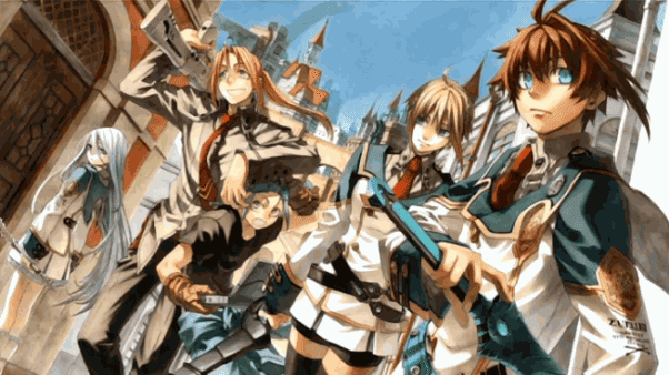 Chrome Shelled Regios - Daftar Anime Fantasy School Terbaik