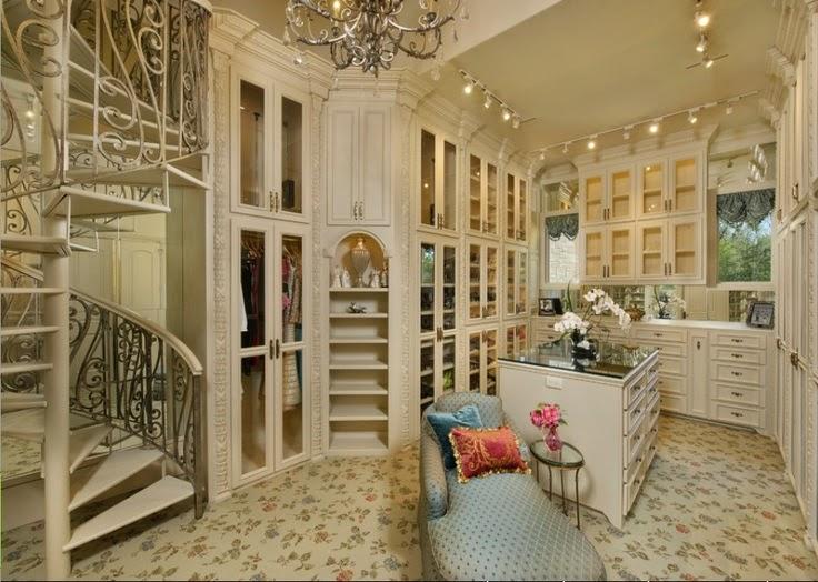 TheBuilderFix: 20 Dream Closets! Amazing closet ideas to ...