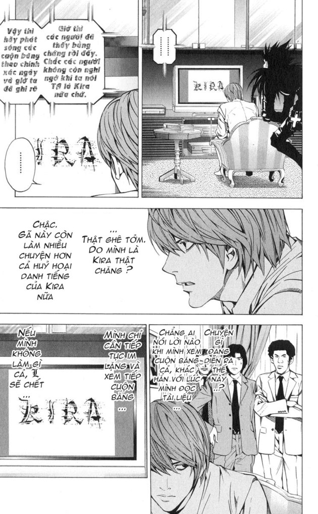 Death Note chapter 026 trang 13