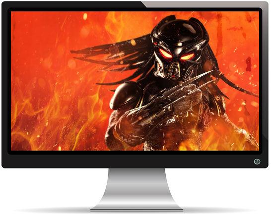 The Predator Flammes - Fond d'écran en Ultra HD 4K 2160p