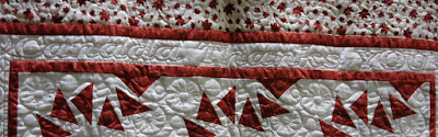 "Quilt #12 details - ""Canada Thanks You"""
