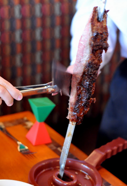 Grilled Meat at Rodizio Grill in Allentown, PA - Photo by Taste As You Go