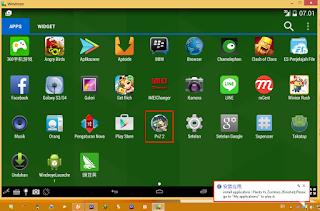 windroye-emulator android di pc terbaik ringan