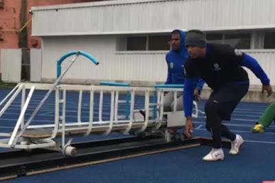 Bobsled brasileiro ganha sua primeira pista de push no país
