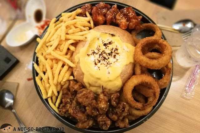Kko Kko's melted cheese and chicken - Korean