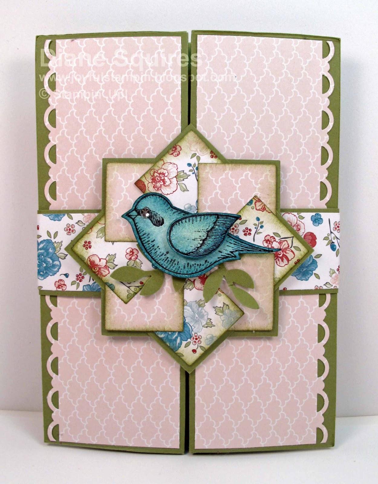 Joyful Stampin: Twitterepated Box Card - photo#46