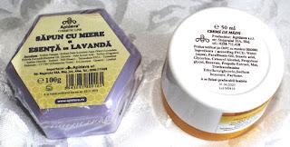 Cosmeticele cu miere de la Apidava - review