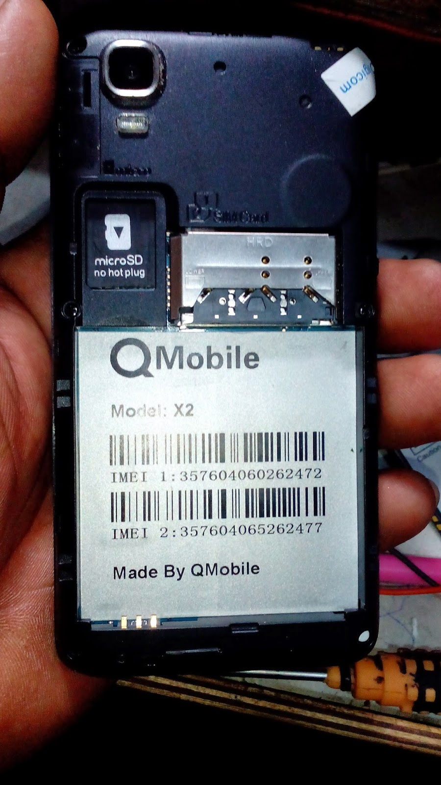 Remove Pattern Lock Qmobile X2 By Hard Reset | Mobile Flickr