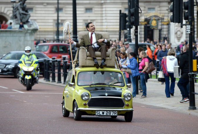 Rowan Atkinson: Mr Bean in London