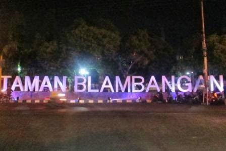 Taman Blambangan alun-alun kota banyuwangi