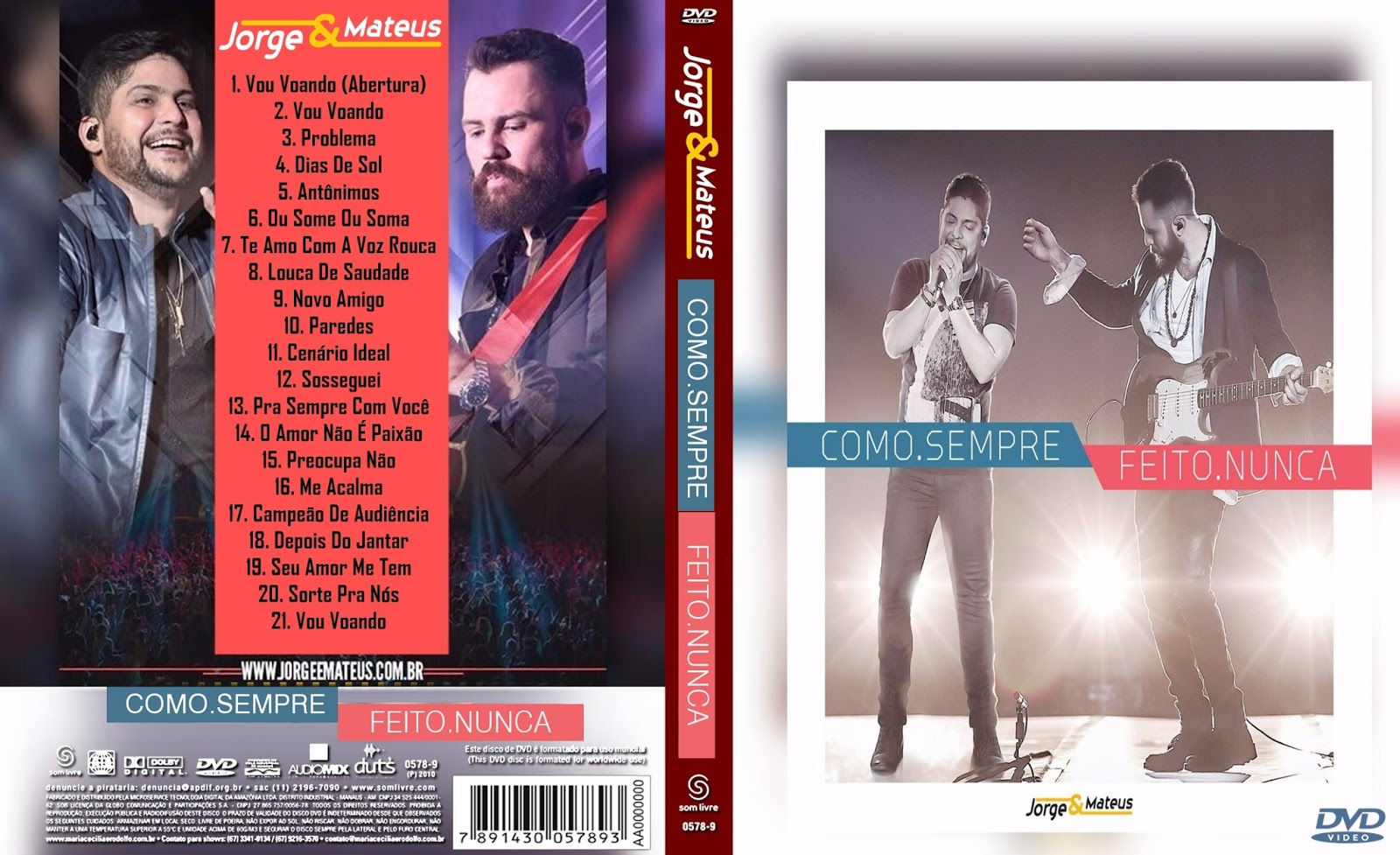 Jorge & Mateus Como Sempre Feito Nunca DVDRip XviD 2016 Jorge 2B 2526 2BMateus 2BComo 2BSempre 2BFeito 2BNunca 2BDVD 2B  2BXANDAODOWNLOAD