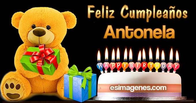Feliz Cumpleaños Antonela