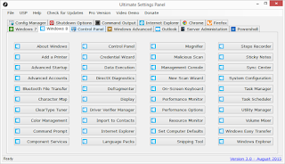 Ultimate Settings Panel - Version 3.0 Released 2