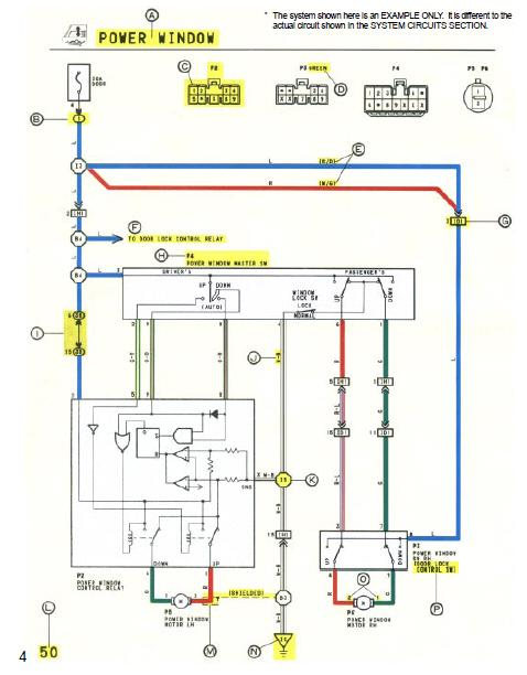 repairmanuals: Toyota Camry 1994 Wiring Diagrams