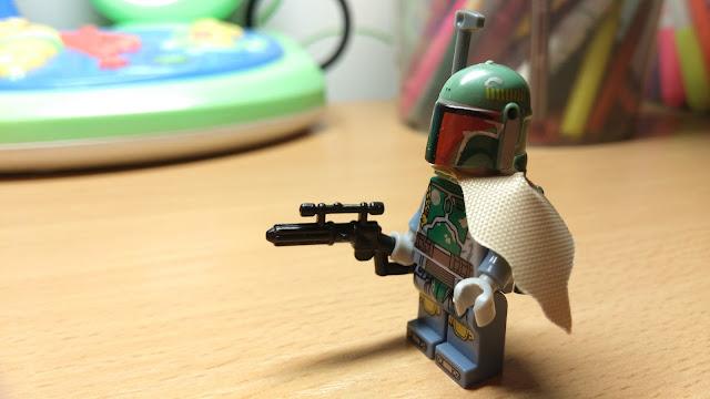 Фигурка лего Боба Фетт Звездные войны Star Wars купить